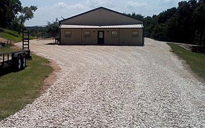 Gravel Driveway Installs - Denton County